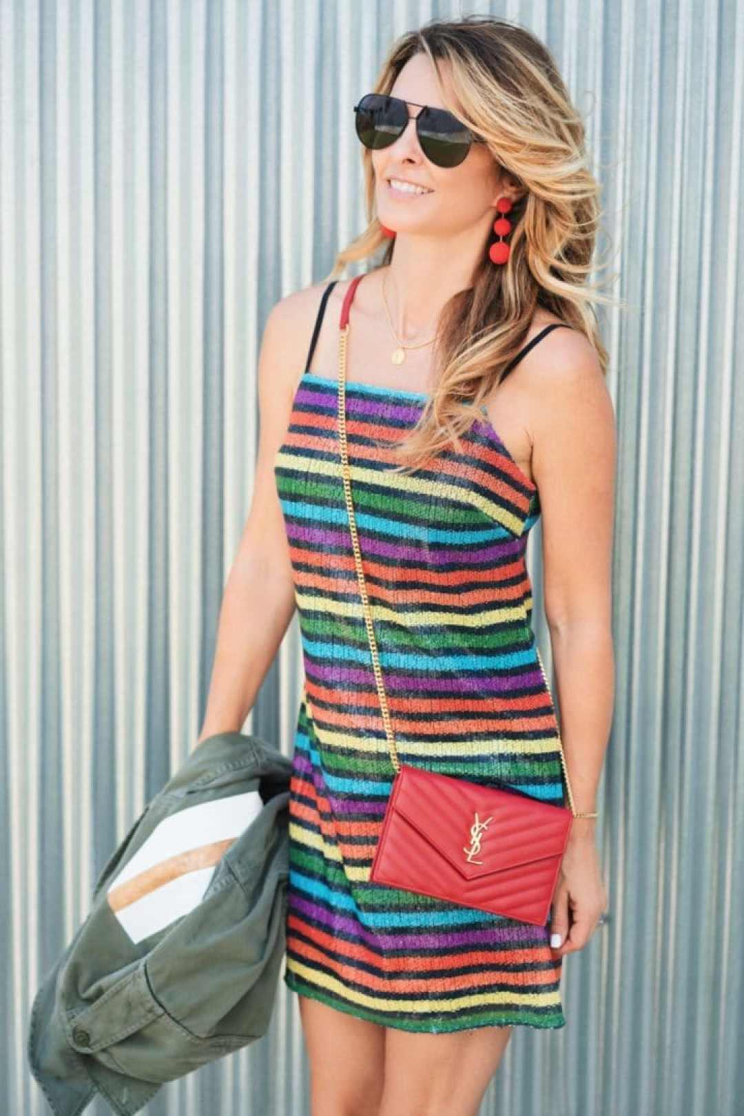 Summer Fashion Trends: Rainbow Print