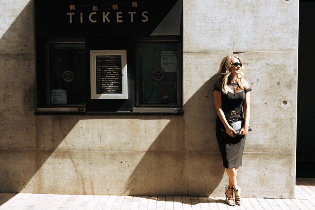 Little Black Dress, Gucci Belt Her Fashioned Life
