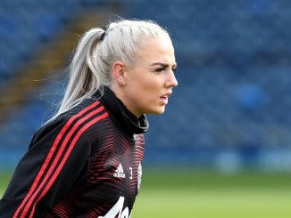Alex Greenwood of Manchester United Women