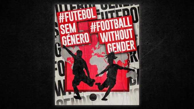 Futebol Sem Género (Football Without Gender) logo
