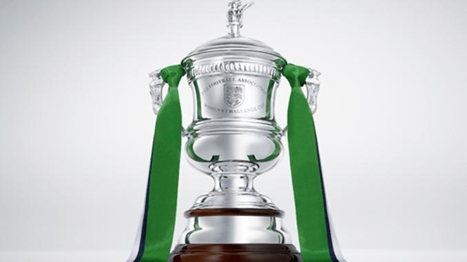 Women's FA Cup trophy.