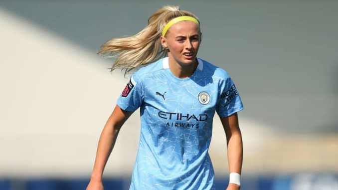 Chloe-kelly-in-action-for-manchester-city