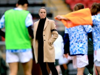 casey-stoney-looks-on-for-man-united