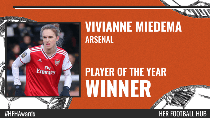 Vivianne Miedema – Player of the Year