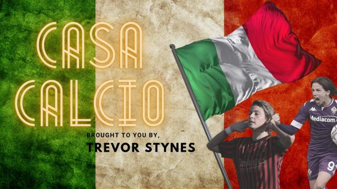 Casa Calcio (Serie A Italy) brought to you by Trevor Stynes.