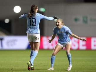 Caroline-weir-steph-houghton-celebrate-man-city