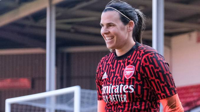 Arsenal's Lydia Williams
