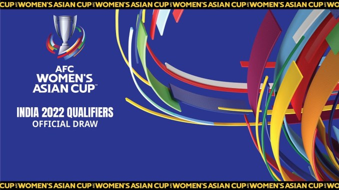 2022 AFC Womens Asian Cup Qualifiers Official Draw