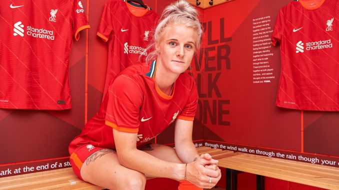 Liverpool's Jasmine Matthews