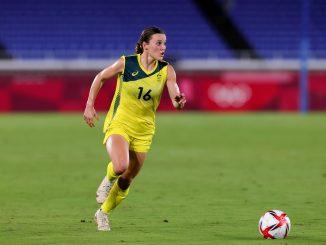 Hayley Raso of Team Australia.