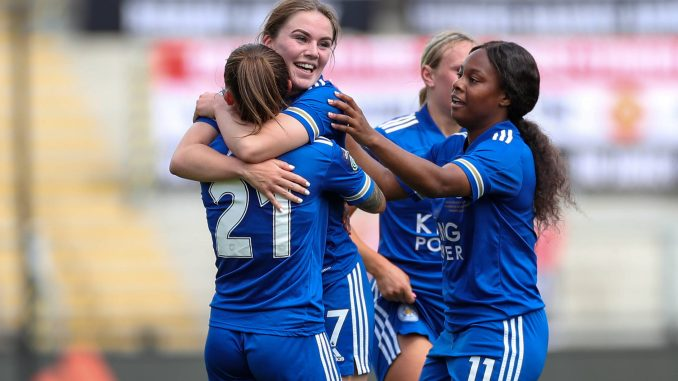 Leicester City midfielder Shannon O'Brien