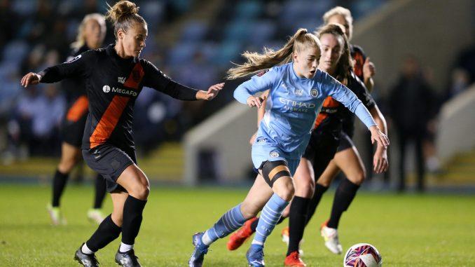 Jess Park of Manchester City