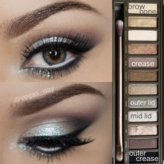 Silver Eye Makeup Looks To Add A Touch
