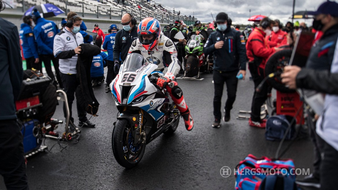 Tough weekend at Magny-Cours for BMW Motorrad WorldSBK Team