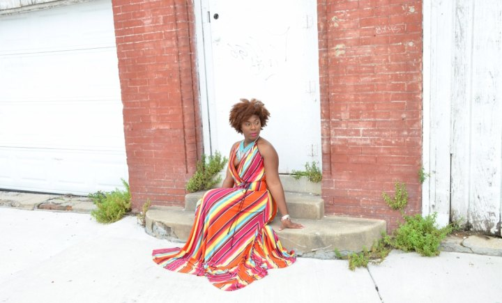 How to style a Colorful Maxi Dress