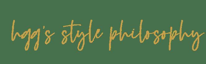 Hggs Style Philosophy