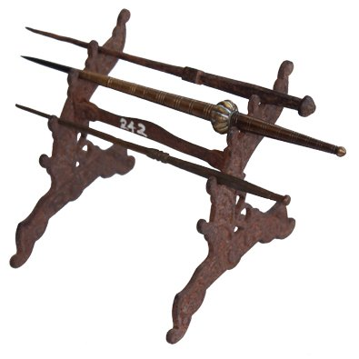 Palm Leaf Writer Narayam with Iron Stand Antique Online