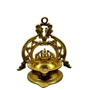Lakshmi Vilakku Oil Lamp for Prosperity
