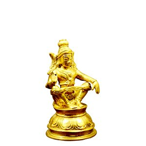 Ayyappa Idol Brass Metal Made
