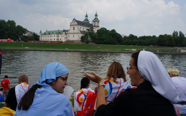 Photo of participants of the WYD in Kraków