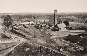 Mountsorrel Quarry Time Office in the 1870s