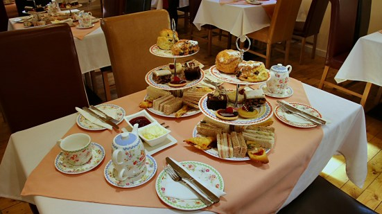 Granites afternoon tea