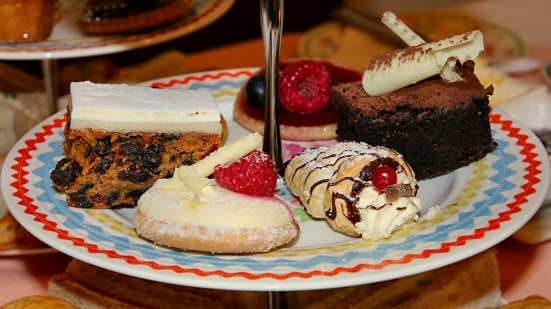 Granites afternoon tea: cakes