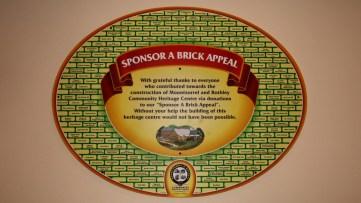 Sponsor a brick appeal board