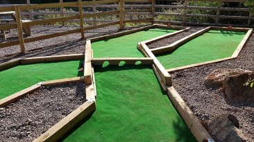 Crazy Golf Holes 2 and 3