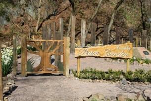 Peace Garden entrance