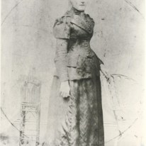 Mary Welch, married Thomas Wrigley, 1846. Hutt City Libraries Collection.