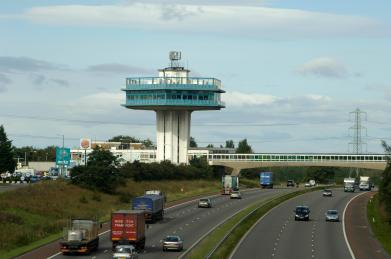 Forton Service Station, M6 motorway, north Lancashire