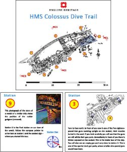 dive trail booklet