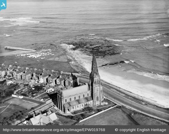 St George's Church, Cullercoats, 1927