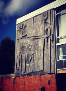 Hubert Dalwood Mural Relief  University of Leeds