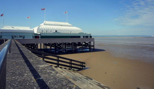pier and Esplanade Pavilion, Burnham-on-Sea, Somerset