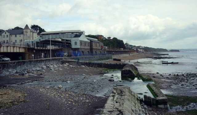 Seafront at Dawlish, Devon