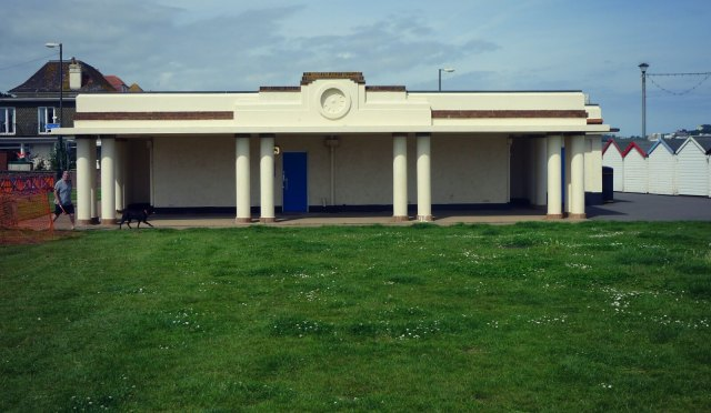 Public conveniences of 1937, north of Preston Green, Paignton, Devon