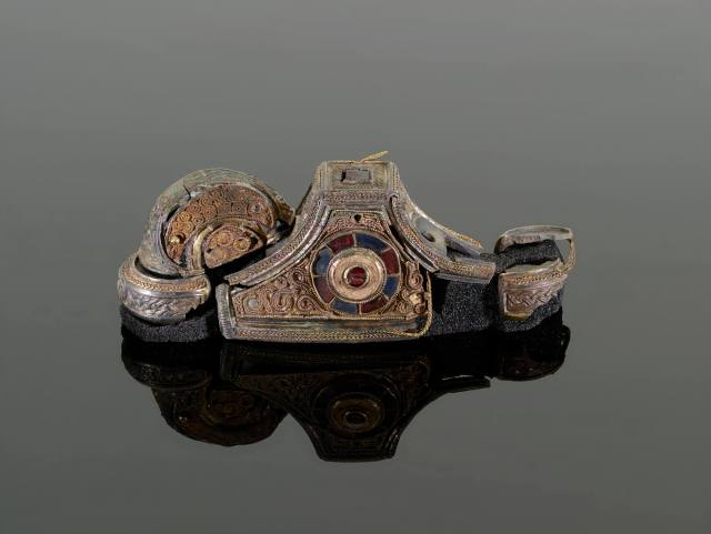 The reconstructed sword pommel (c) Birmingham Museums Trust