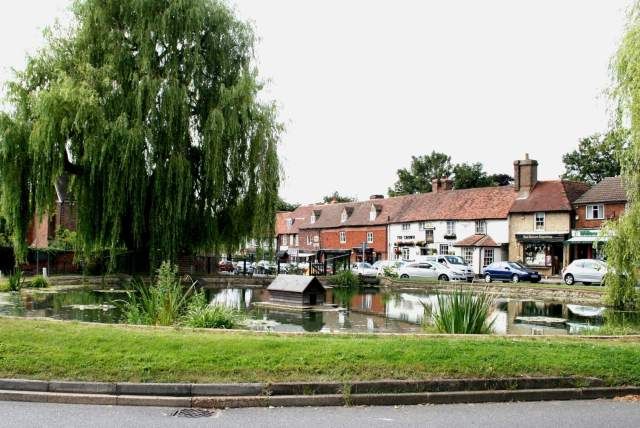 Otford Village Duck House, our smallest listed structure © Glen, Creative Commons License