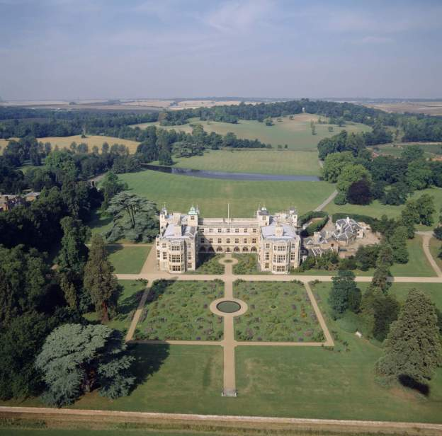 AUDLEY END HOUSE Aerial view