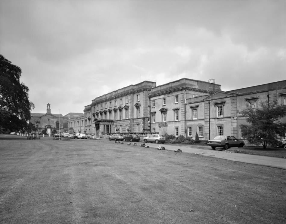 10 - Exterior north west elevation, Brislington House, Bristol - insane asylum.