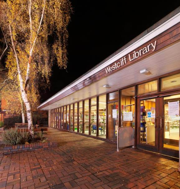 Westcliff Library exterior