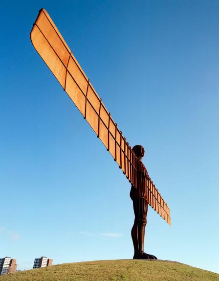 The Angel of the North, 1998, Antony Gormley © Historic England