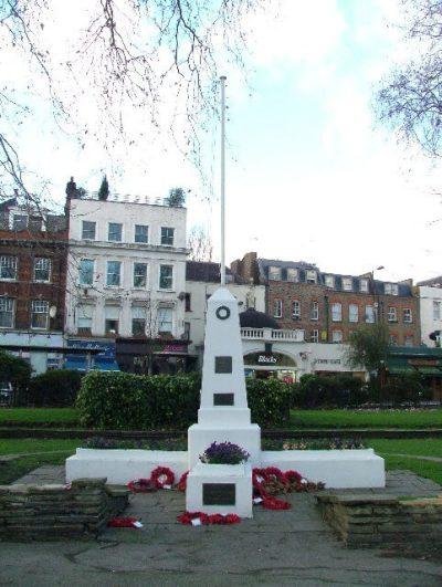 islington green memorial original now demolished