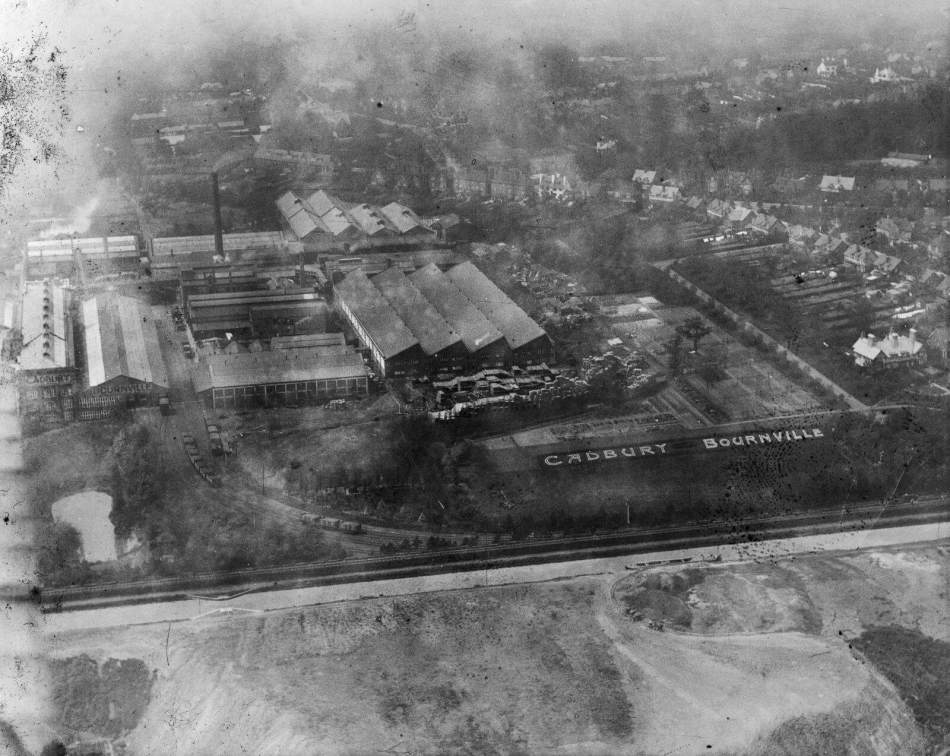 SP048813 SP0481/051 Cadbury Factory, Bournville, 1920