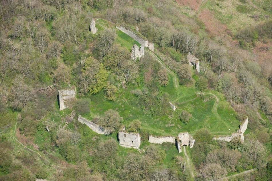 Wigmore Castle today - a great site to explore!