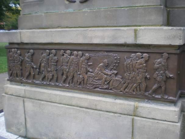 Stourbridge War Memorial, West Midlands © Joanna Gould.