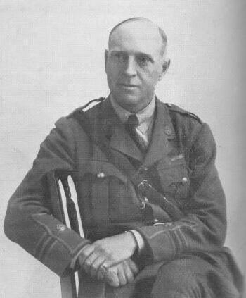 Major Walter Wilson . Image courtesy of Richard Pullen.
