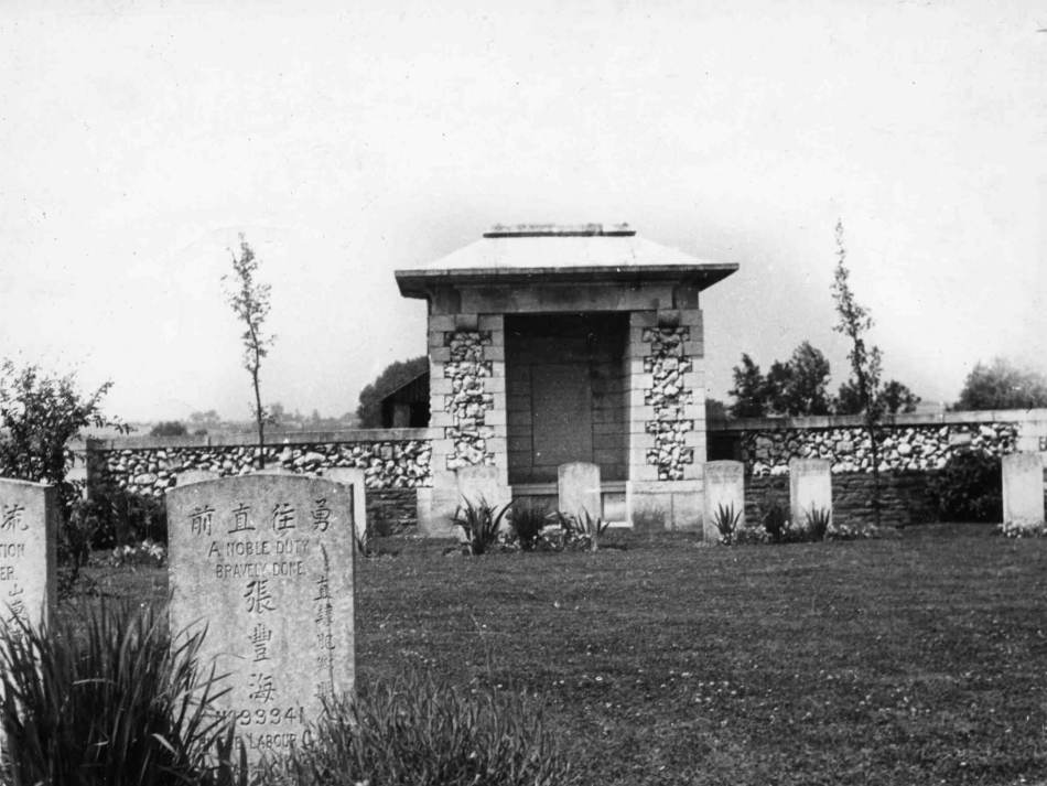 Ayette Indian and Chinese Cemetery, France